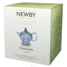 Newby Chamomile травяной чай в пирамидках, 15 шт