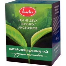 Indu Китайский зеленый листовой чай, 90 г