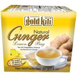 Gold Kili имбирь натуральный c лимоном пакетированный, 80 г (20 саше)