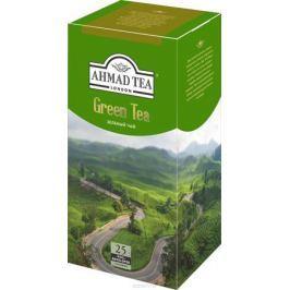 Ahmad Tea зеленый чай в пакетиках с ярлычками, в конвертах из фольги, 25 шт