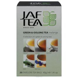 Jaf Tea Oolong melange и Оолонг ассорти чай зеленый в пакетиках 5 видов, 20 шт