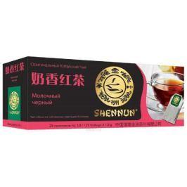 Shennun чай молочный красный, черный пакетированный, 25 шт