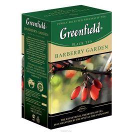 Greenfield Barberry Garden черный листовой чай, 100 г