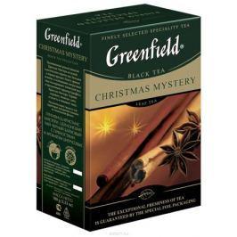 Greenfield Christmas Mystery черный листовой чай, 100 г