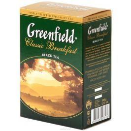Greenfield Classic Breakfast черный листовой чай, 100 г
