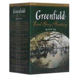 Greenfield Earl Grey Fantasy черный листовой чай, 100 г