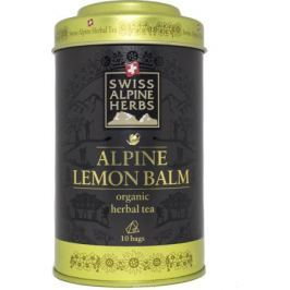 Swiss Alpine Herbs травяной чай мелисса лимонная в пакетиках, 10 шт
