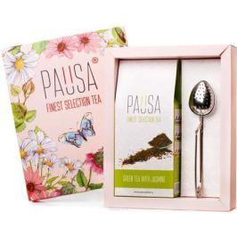 Pausa Flowers зеленый чай с жасмином подарочный набор, 90 г