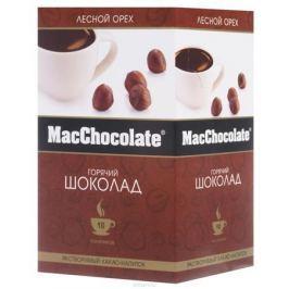 MacChocolate горячий шоколад с лесным орехом, 10 шт