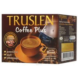 Truslen Cofee Plus кофейный напиток в пакетиках, 10 шт