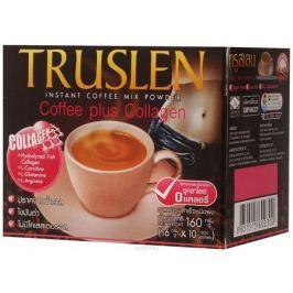 Тruslen Coffee Plus Collagen кофейный напиток в пакетиках, 10 шт