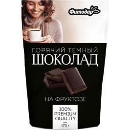 Фитодар какао-напиток горячий шоколад темный на фруктозе, 170 г