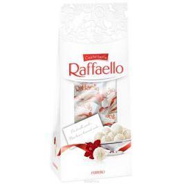 Raffaello конфеты с цельным миндальным орехом в кокосовой обсыпке, 80 г