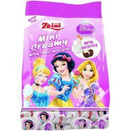 Zaini Mini Creamy Disney Princess конфеты шоколадные с молочной кремовой начинкой и сюрпризом, 122 г