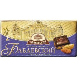 Бабаевский темный шоколад с миндалем, 100 г