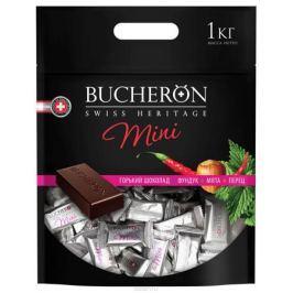 Bucheron Mini горький шоколад с фундуком, мятой и кайенским перцем, 1 кг
