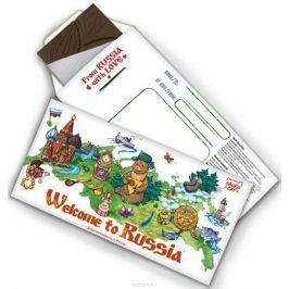 Chokocat Добро пожаловать в Россию! темный шоколад, 85 г