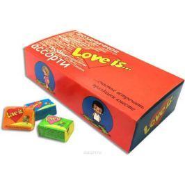 Love is Пожелания жевательная резинка, 25 шт Жевательная резинка