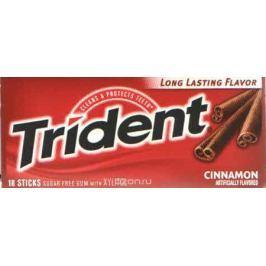 Trident Cinnamon жевательная резинка, 25,2 г