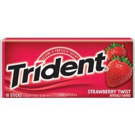 Trident Strawberry Twist жевательная резинка, 25,2 г
