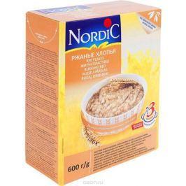Nordic хлопья ржаные, 600 г
