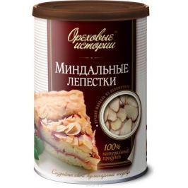 Ореховые истории Миндальные лепестки (слайсы), 100 г