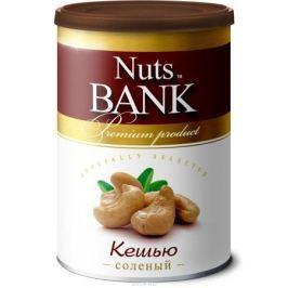 Nuts Bank Кешью обжаренный с солью, 200 г