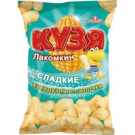 Кузя Лакомкин Палочки кукурузные с сахарной пудрой пакет, 85 г