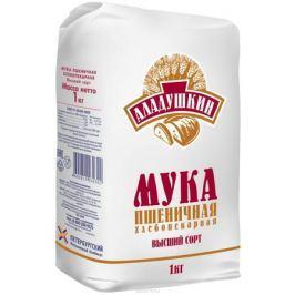 Аладушкин Мука пшеничная высший сорт, 1 кг