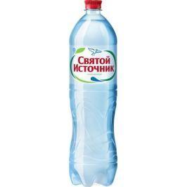 СвятойИсточникводаприродная питьевая газированная, 1,5 л