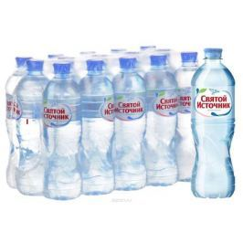 СвятойИсточник вода природная питьевая негазированная, 15 штук по 0,75 л Вода