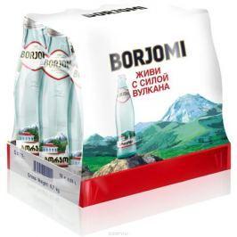 Вода Borjomi природная гидрокарбонатно-натриевая минеральная, 12 шт по 0,33 л