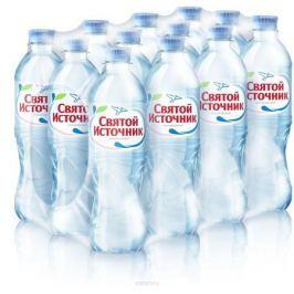 СвятойИсточник водаприродная питьевая негазированная, 12 штук по 0,5 л