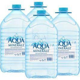 Aqua Minerale вода питьевая негазированная, 4 штук по 5 л