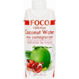 Foco Кокосовая вода с соком граната, 330 мл