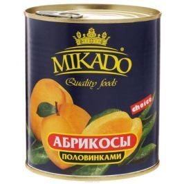 Mikado Абрикосы половинками очищенные в сиропе, 850 мл