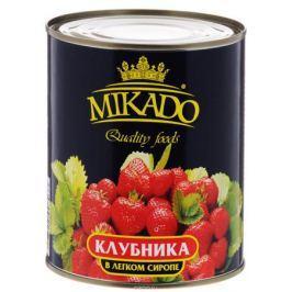 Mikado клубника в легком сиропе, 850 мл