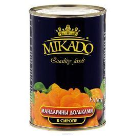 Mikado мандарины дольками в сиропе, 425 мл