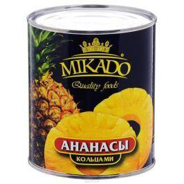 Mikado ананасы кольцами в сиропе, 850 мл
