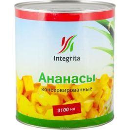 Integrita ананасы резанные кусочками в сиропе, 3,05 кг