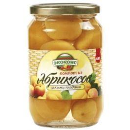 Экоконс компот из абрикосов с целыми плодами, 720 мл