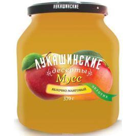 Лукашинские Мусс яблочно-манговый экзотик, 370 г