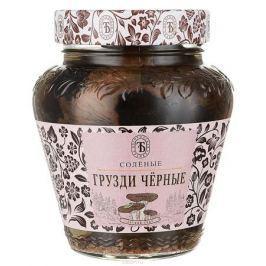 Богородская трапеза грибы черные грузди соленые, 350 г