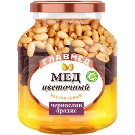 Главмед мед с черносливом и арахисом, 450 г