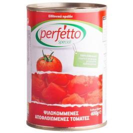 Perfetto specia Томаты резаные очищенные в собственном соку, 400 г