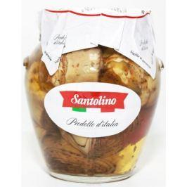 Santolino Артишоки гриль в оливковом масле, 314 мл