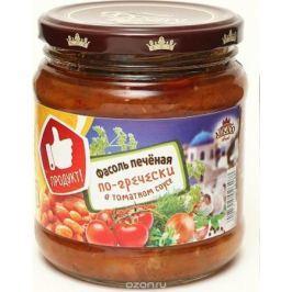 Mikado Фасоль печеная в томатном соусе по-гречески, 450 г