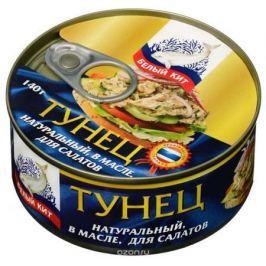 Белый кит тунец для салатов в масле, 140 г