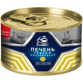КитБай печень трески натуральная, 230 г