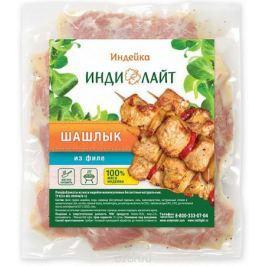 Индилайт Шашлык из филе индейки, охлажденный, вакуумная упаковка, 1,5 кг